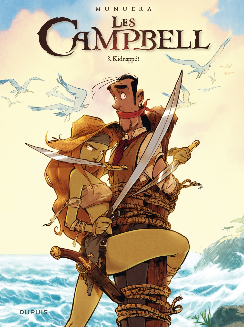 Les Campbell - Tome 3 - Kidnappé ! |