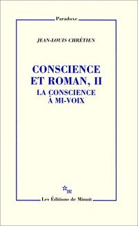 Conscience et roman, II