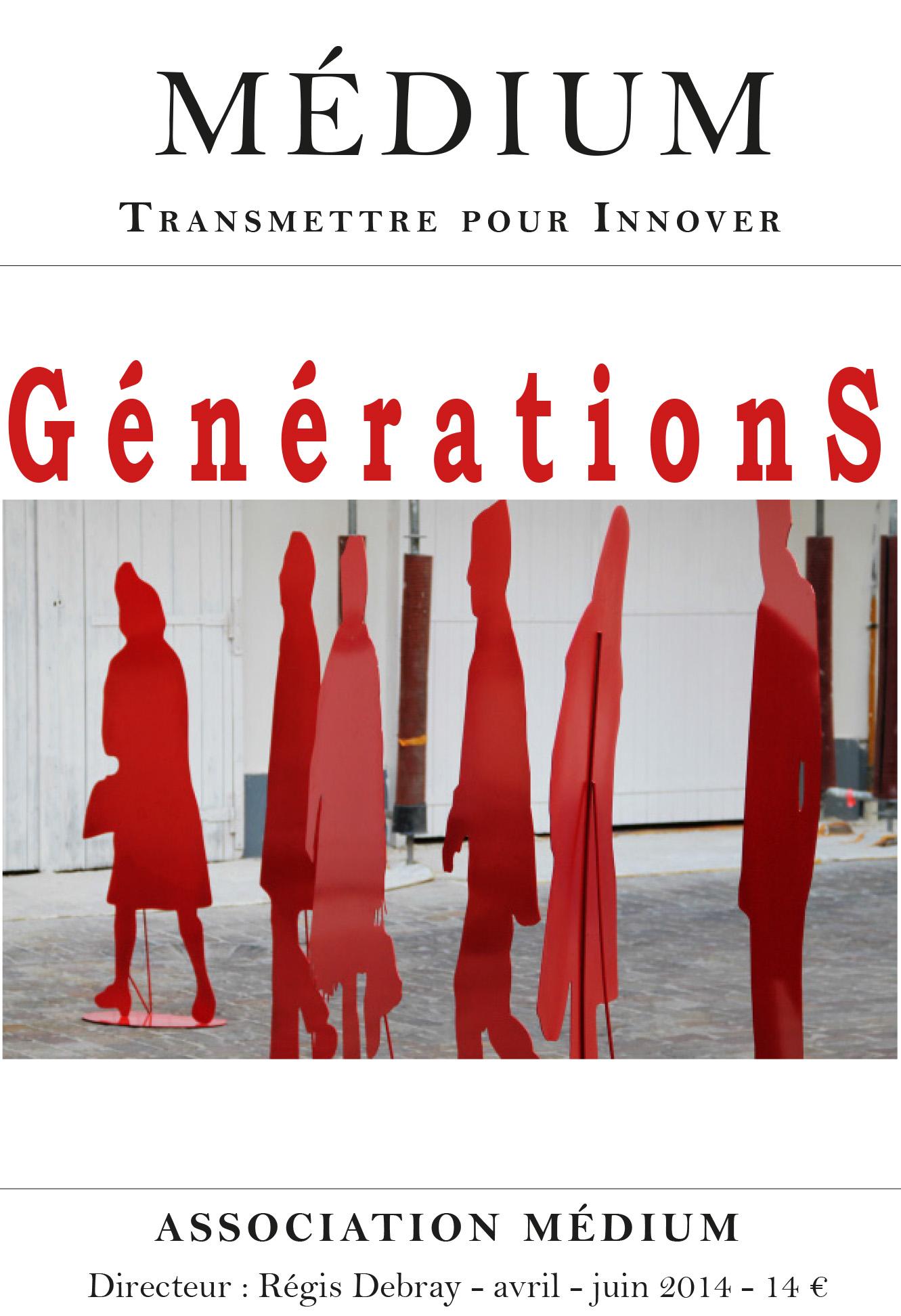 Générations (Médium n°39, avril-juin 2014)