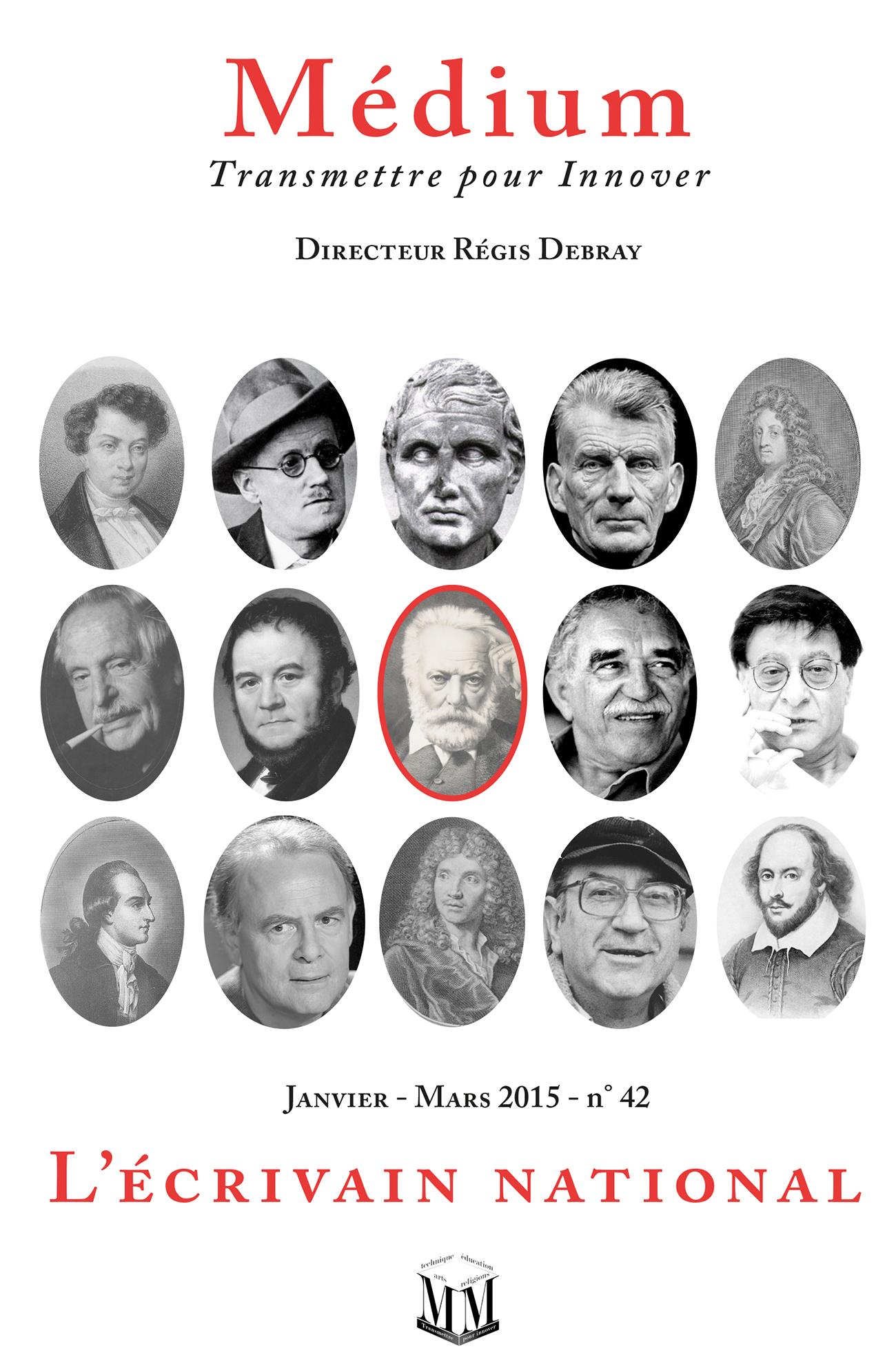 L'écrivain national (Médium n°42, janvier-mars 2015)