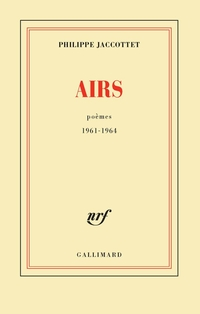 Airs. Poèmes 1961-1964
