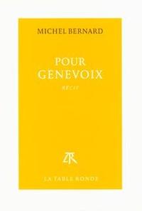 Pour Genevoix