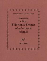 Présentation critique d'Hortense Flexner / Choix de poèmes