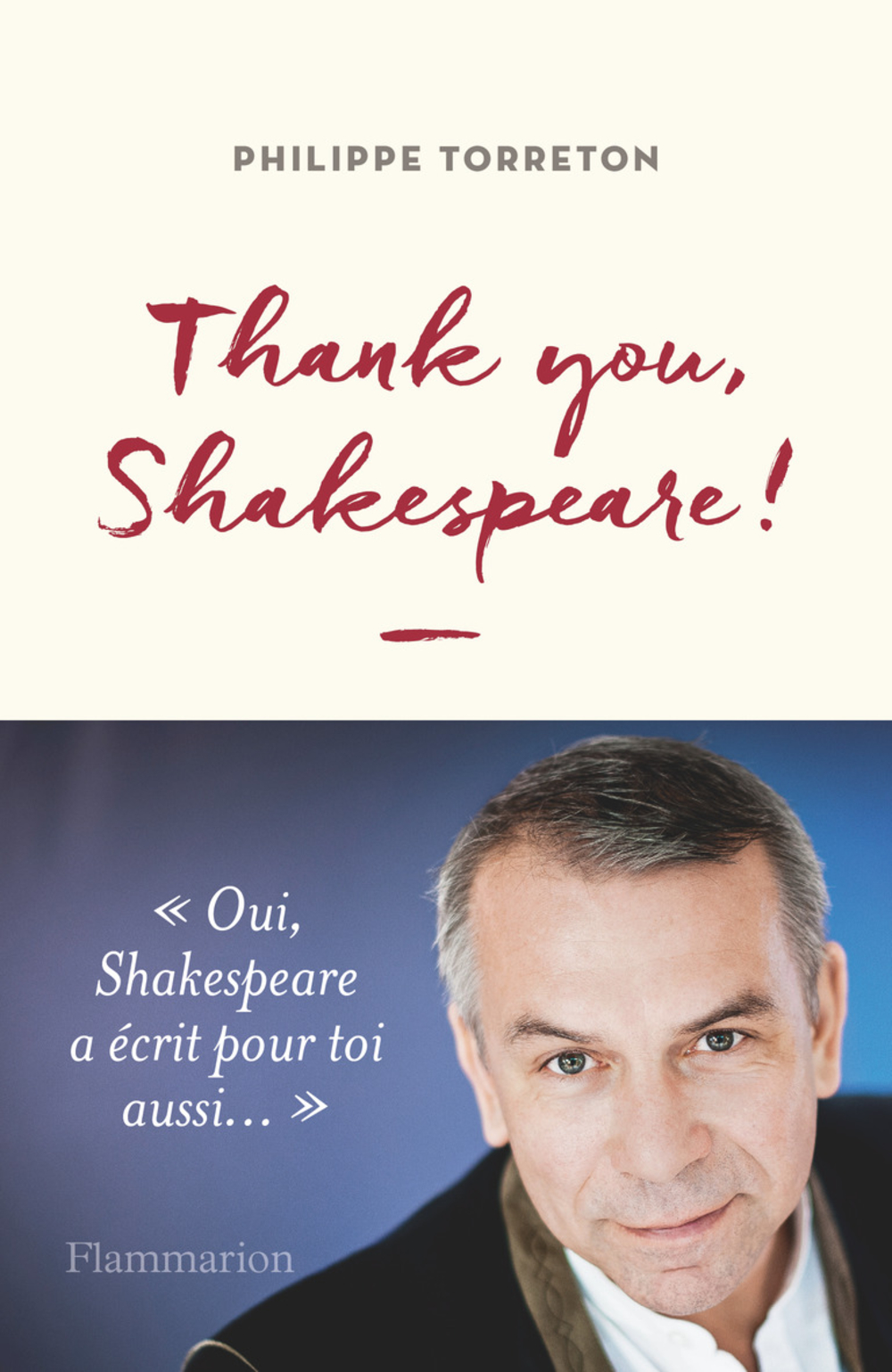 Thank you, Shakespeare !