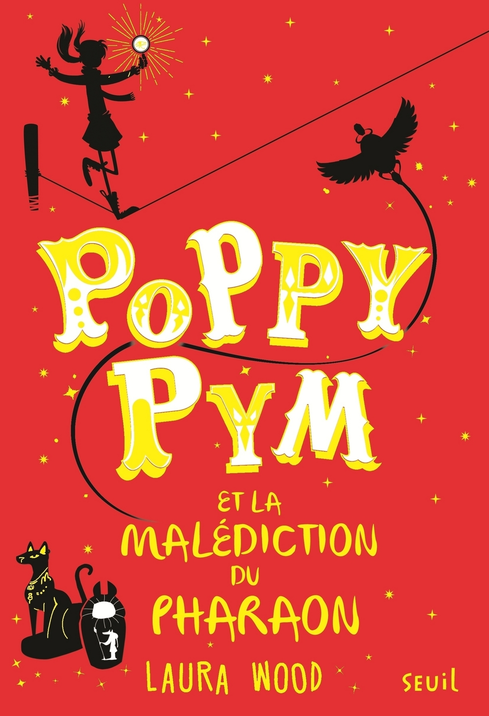 Poppy Pym et la malédiction du pharaon   Wood, Laura