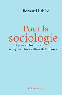 Pour la sociologie | LAHIRE, Bernard