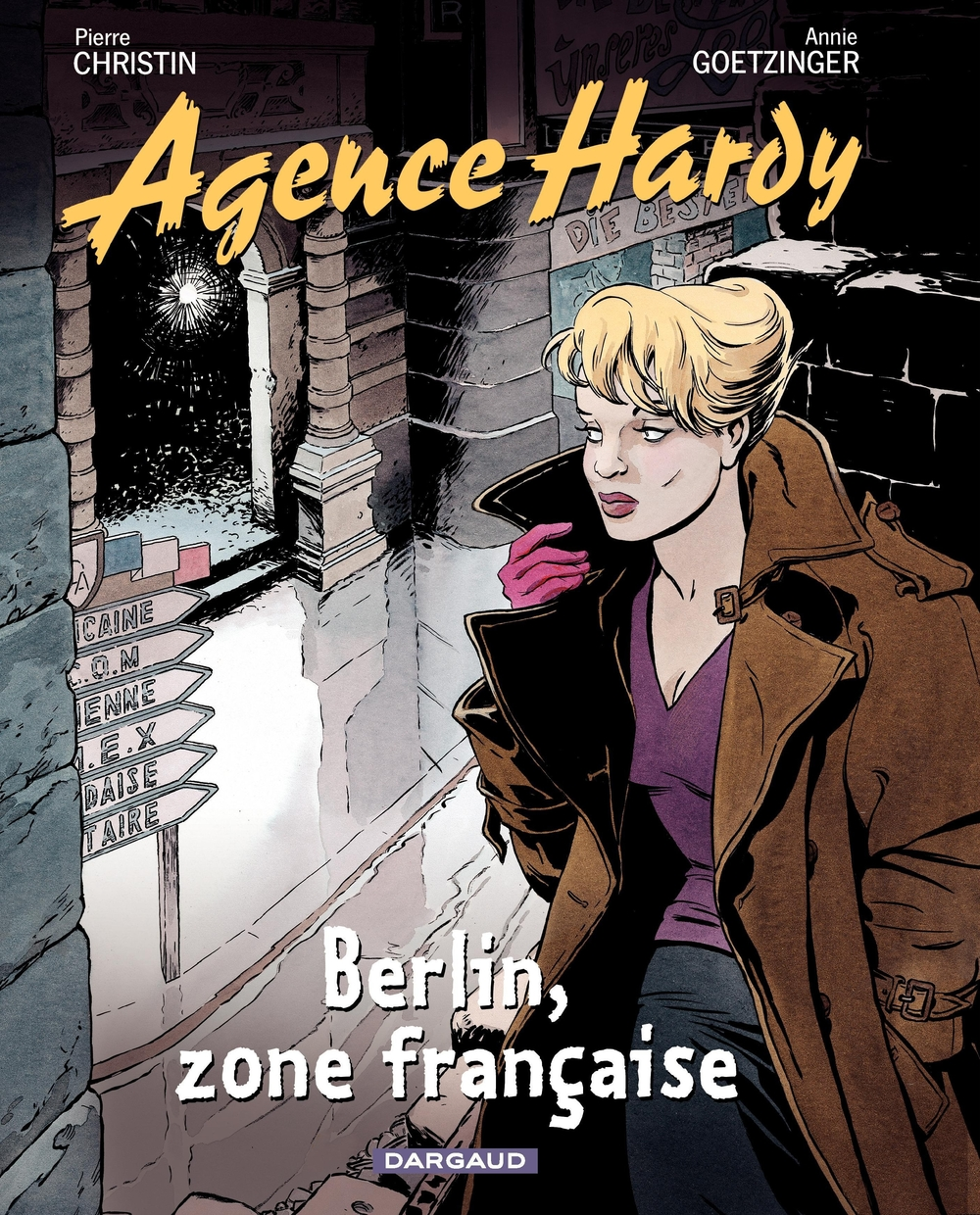 Agence Hardy - tome 5 - Berlin, zone française |