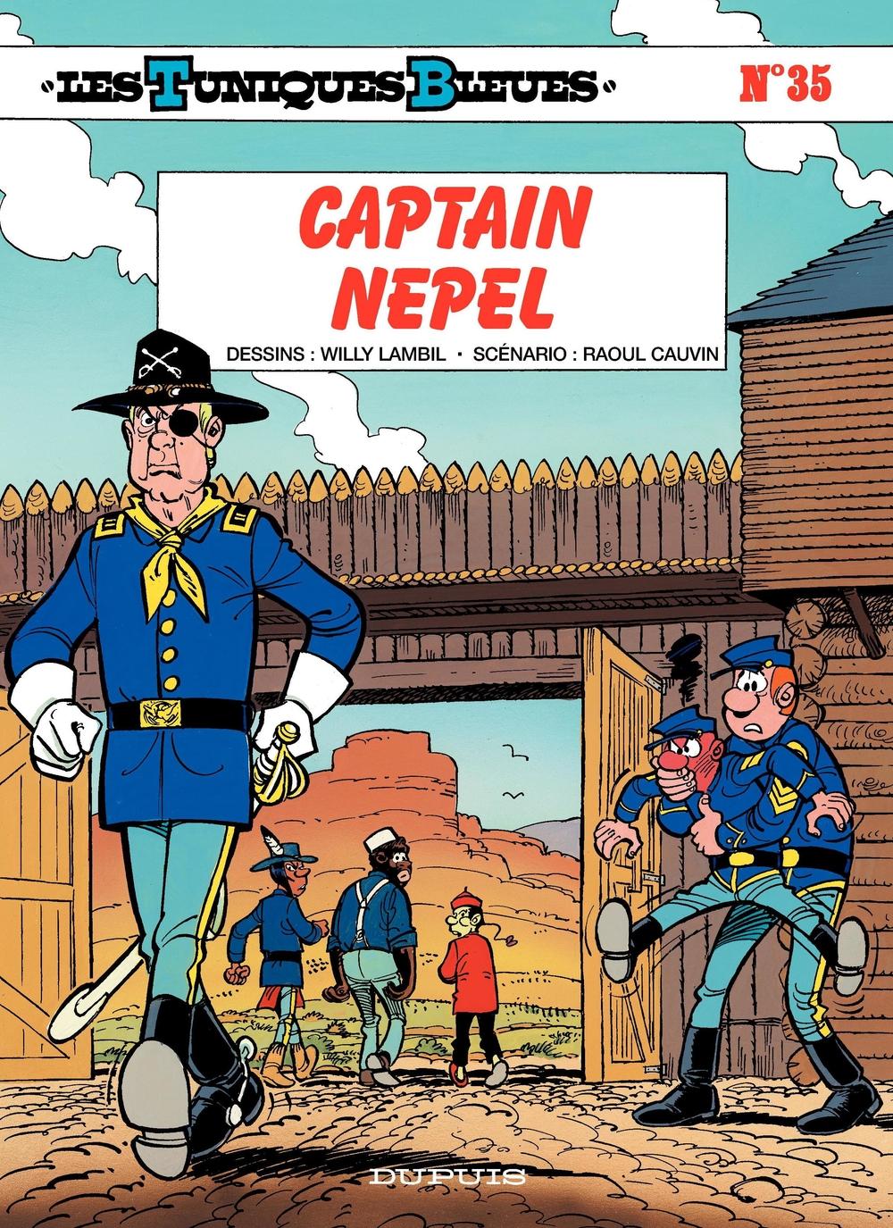 Les Tuniques Bleues - Tome 35 - CAPTAIN NEPEL |