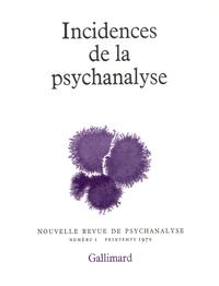 Incidences de la psychanalyse