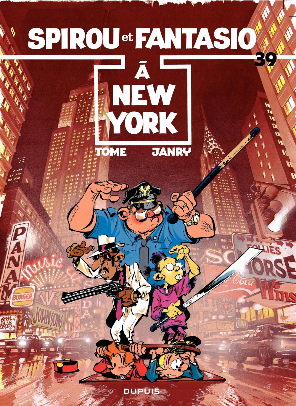 Spirou et Fantasio - Tome 39 - SPIROU A NEW-YORK |