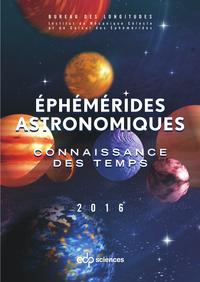 Ephémérides astronomiques 2016