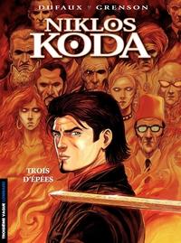 Niklos Koda – tome 10 - Trois d'épées | Grenson, Olivier