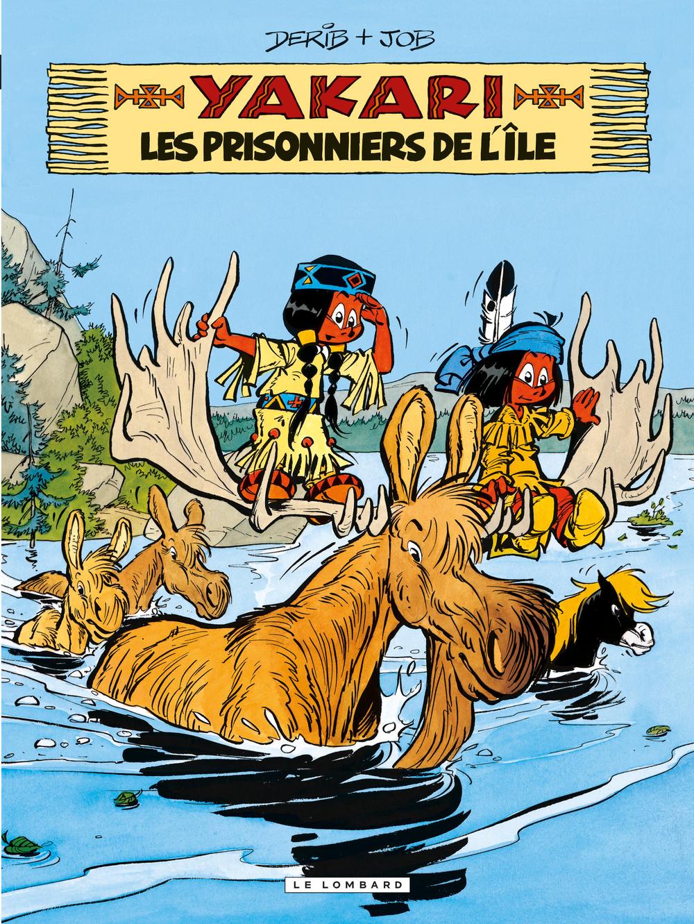 Yakari - tome 09 - Les Prisonniers de l'île |
