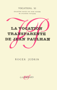 La Vocation transparente de...