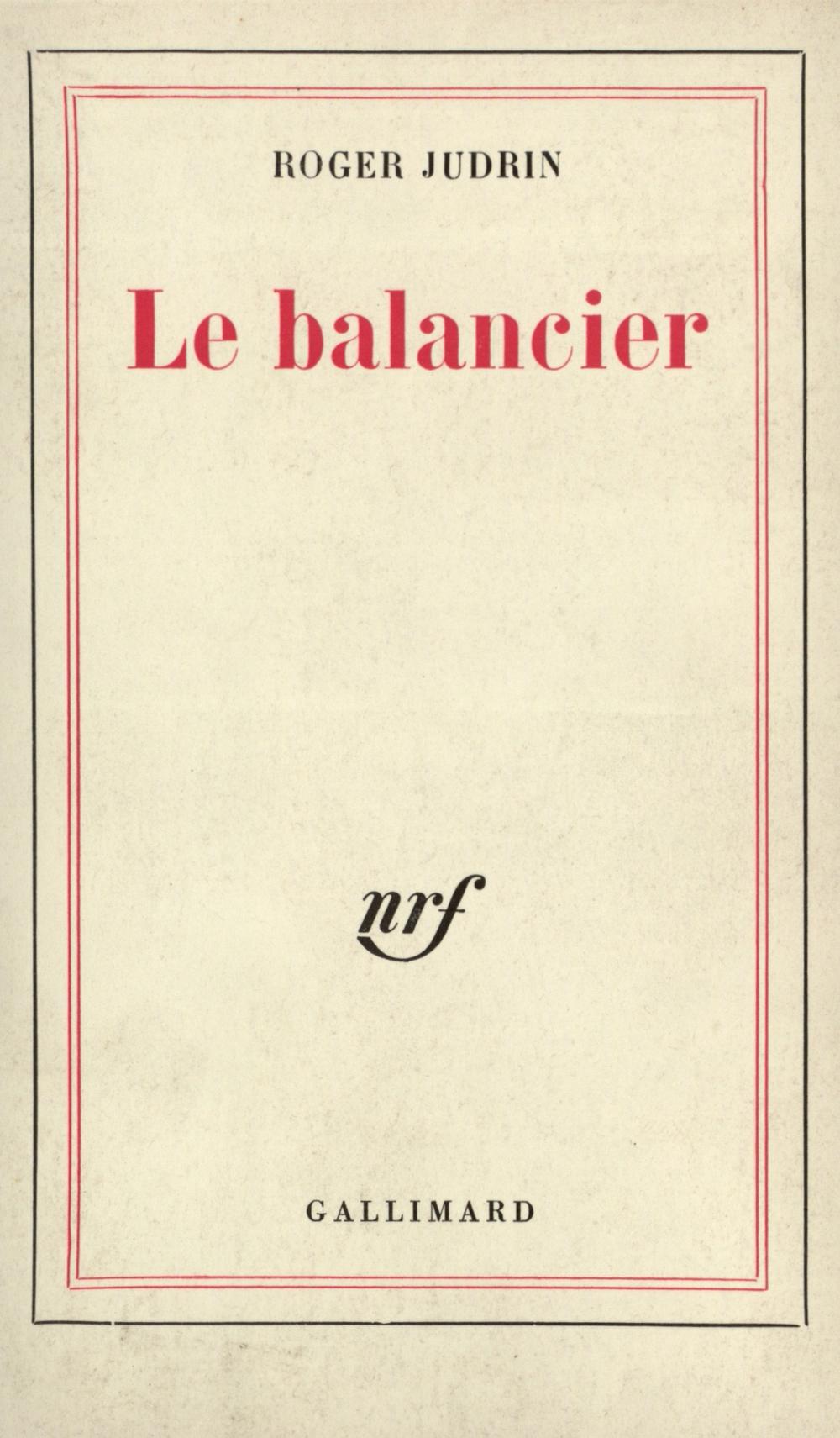 Le balancier