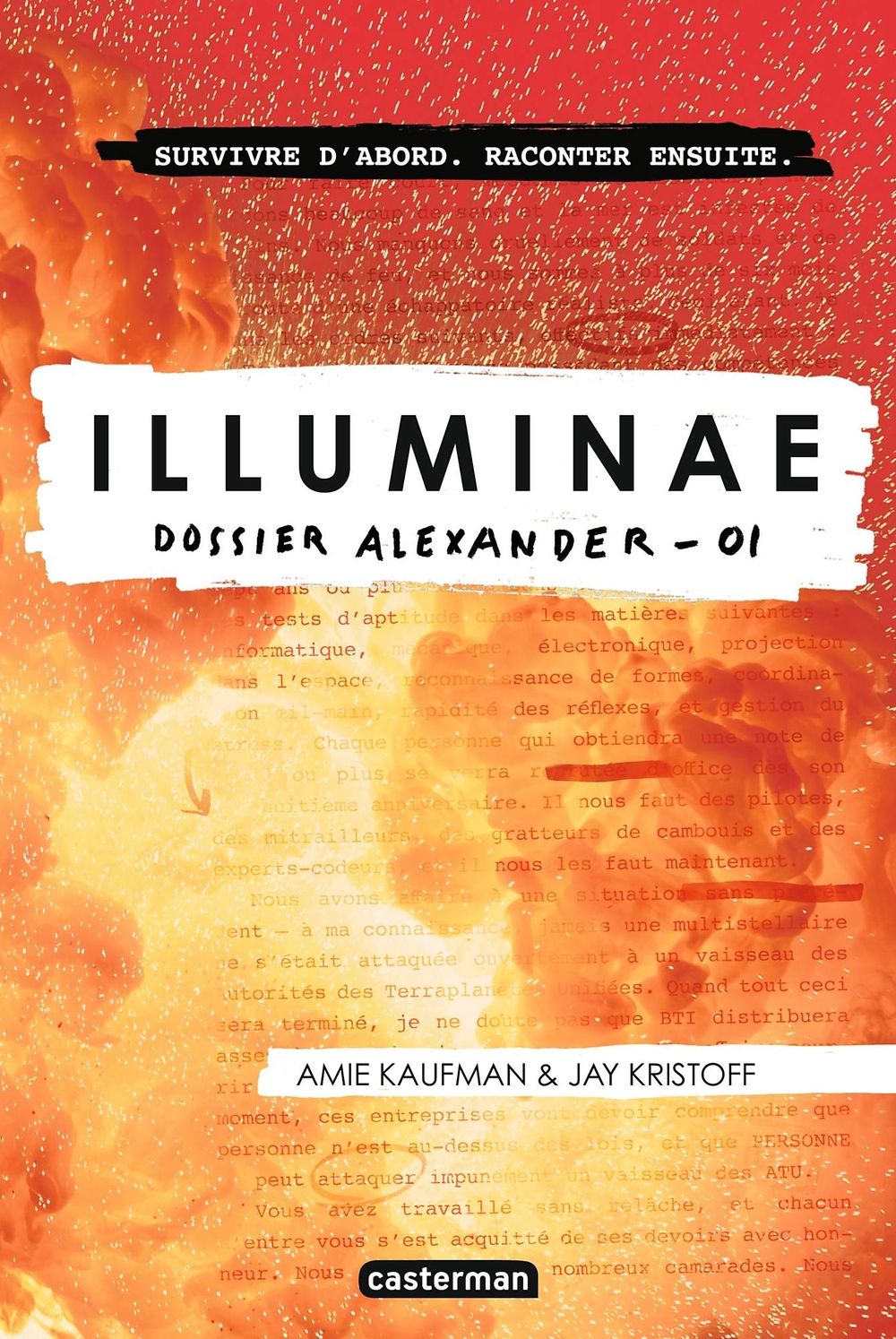 Illuminae (Tome 1) - Dossier Alexander | Kristoff, Jay
