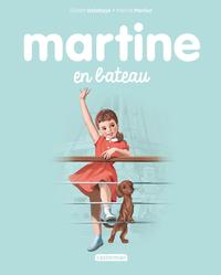 Martine en bateau