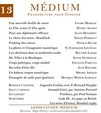 Médium n°13, octobre-décemb...