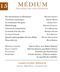 Médium n°15, avril-juin 2008