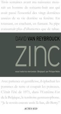 Zinc   Van Reybrouck, David