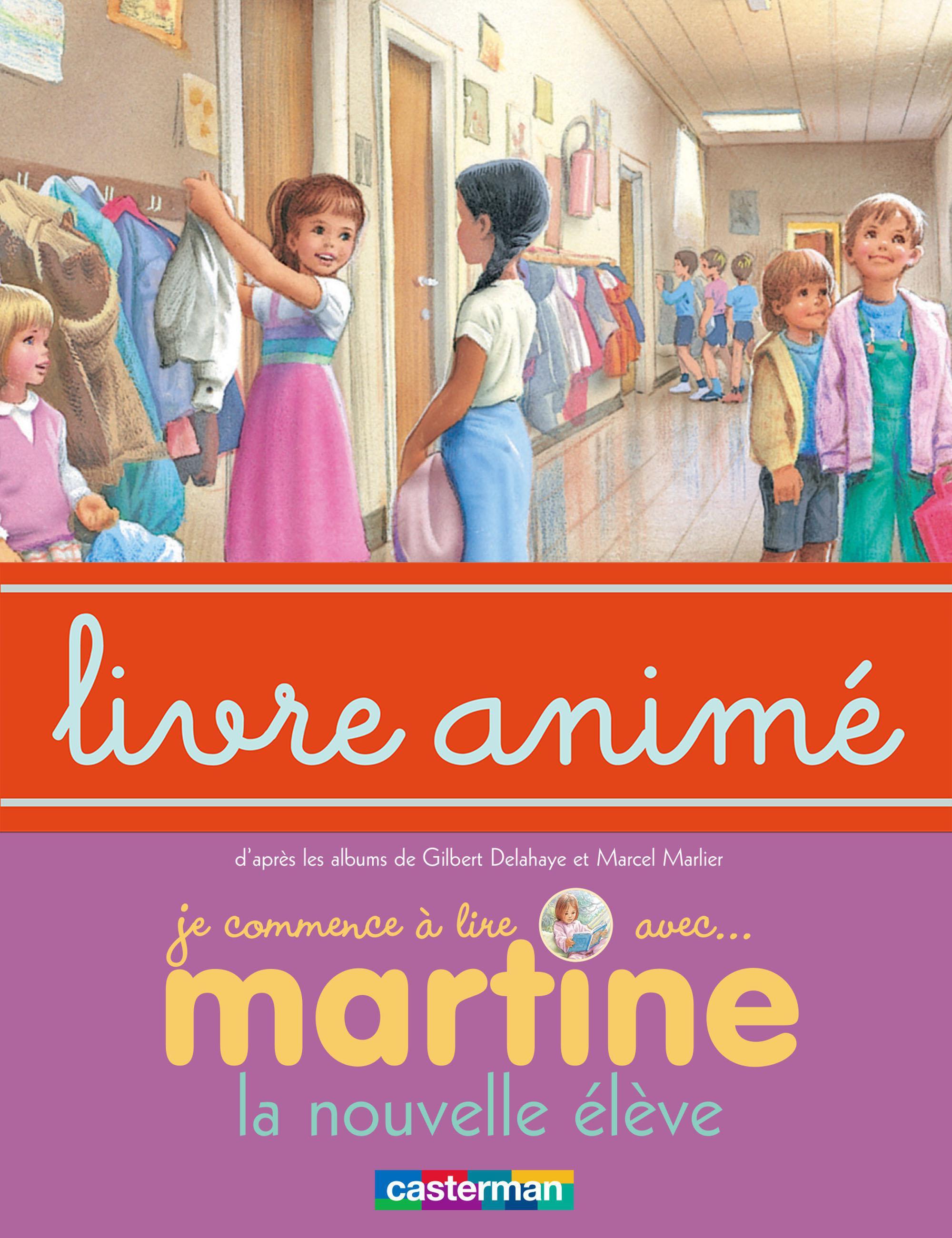 Martine, la nouvelle élève - Livre animé