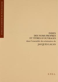 Index des noms propres et t...
