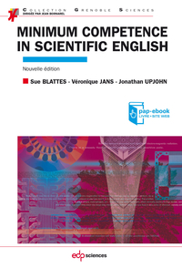 Minimum competence in scientific English (Nouvelle édition)