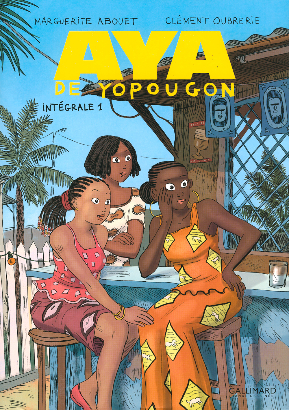 Aya de Yopougon - L'Intégrale 1 (Tomes 1 à 3) | Oubrerie, Clément