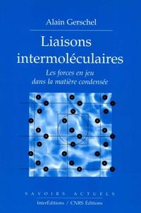 Liaisons intermoléculaires ...