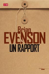 Un rapport | EVENSON, Brian