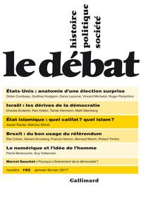 Le Débat N° 193 (Janvier - ...