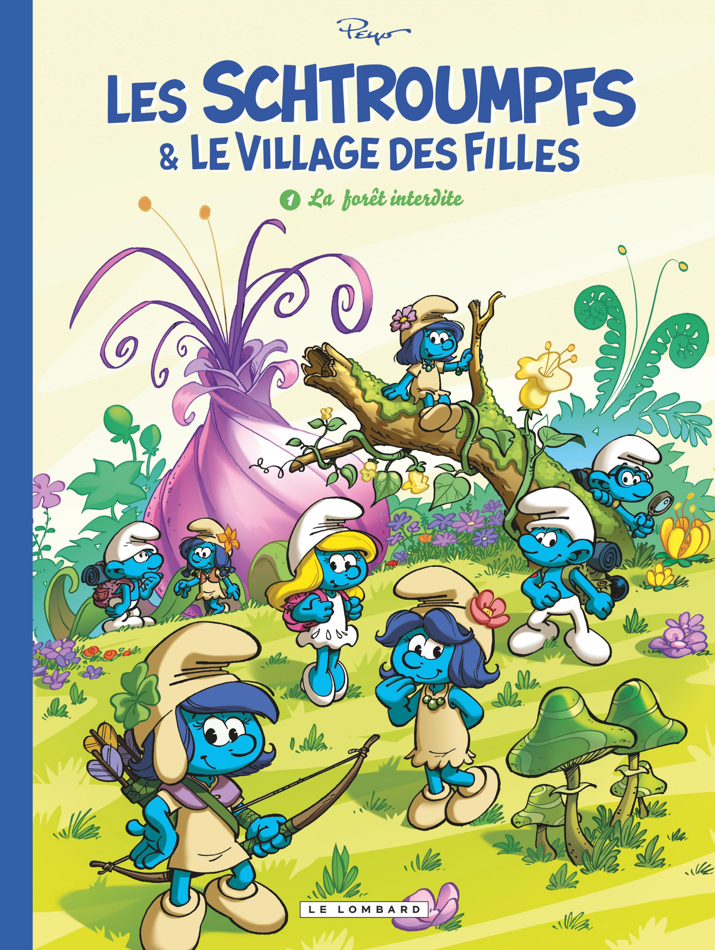 Les Schtroumpfs et le Village des Filles - Tome 1 - La Forêt inte