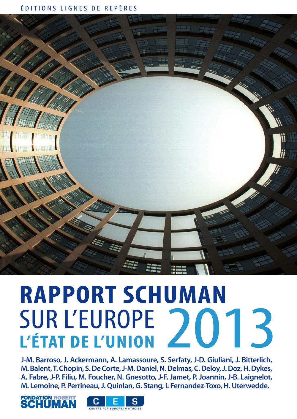 Etat de l'Union 2013, rapport Shuman sur l'Europe