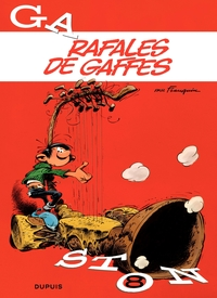 Gaston - tome 08 - Rafales de gaffes