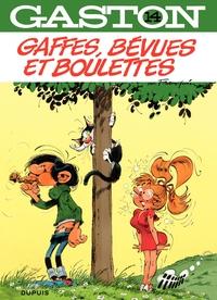 Gaston - Tome 14 - Gaffes, bévues et boulette