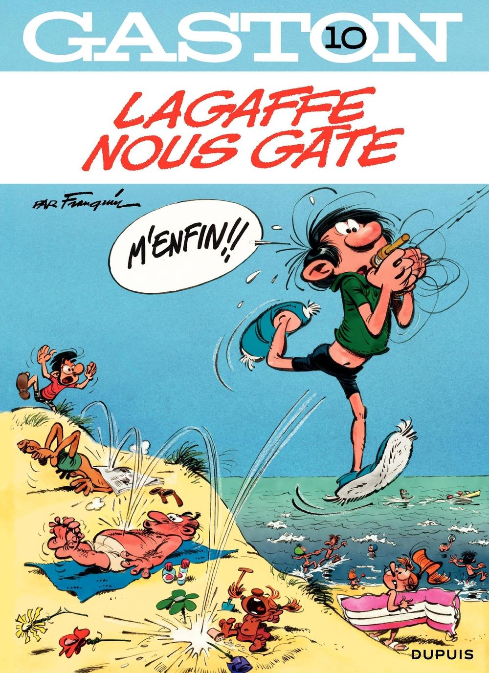 Gaston - tome 10 - Lagaffe nous gâte   Franquin,