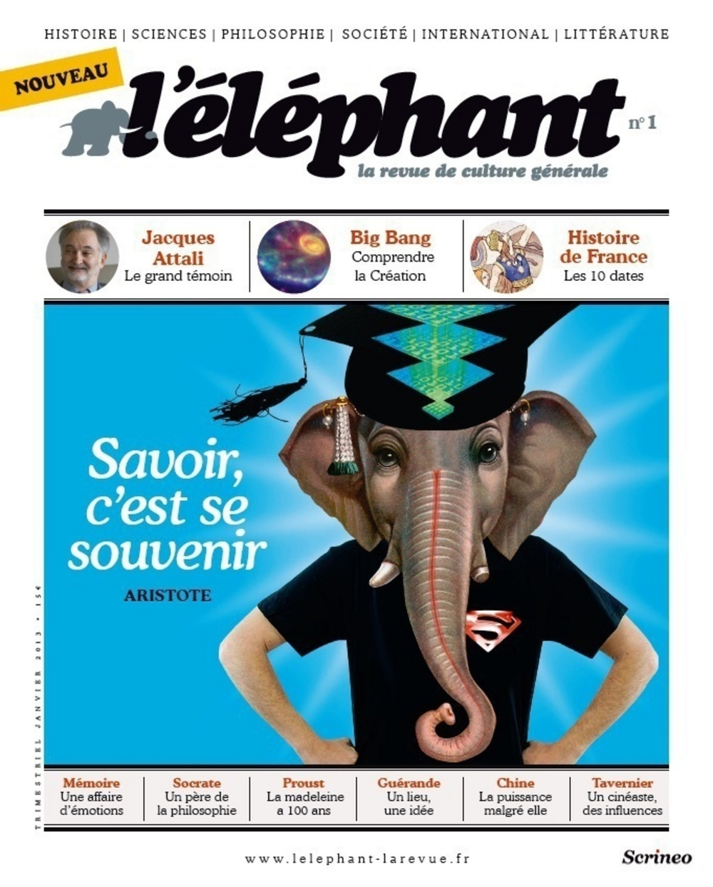 L'éléphant : La revue 01