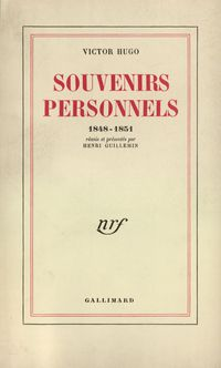 Souvenirs personnels