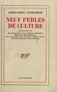 Neuf perles de culture