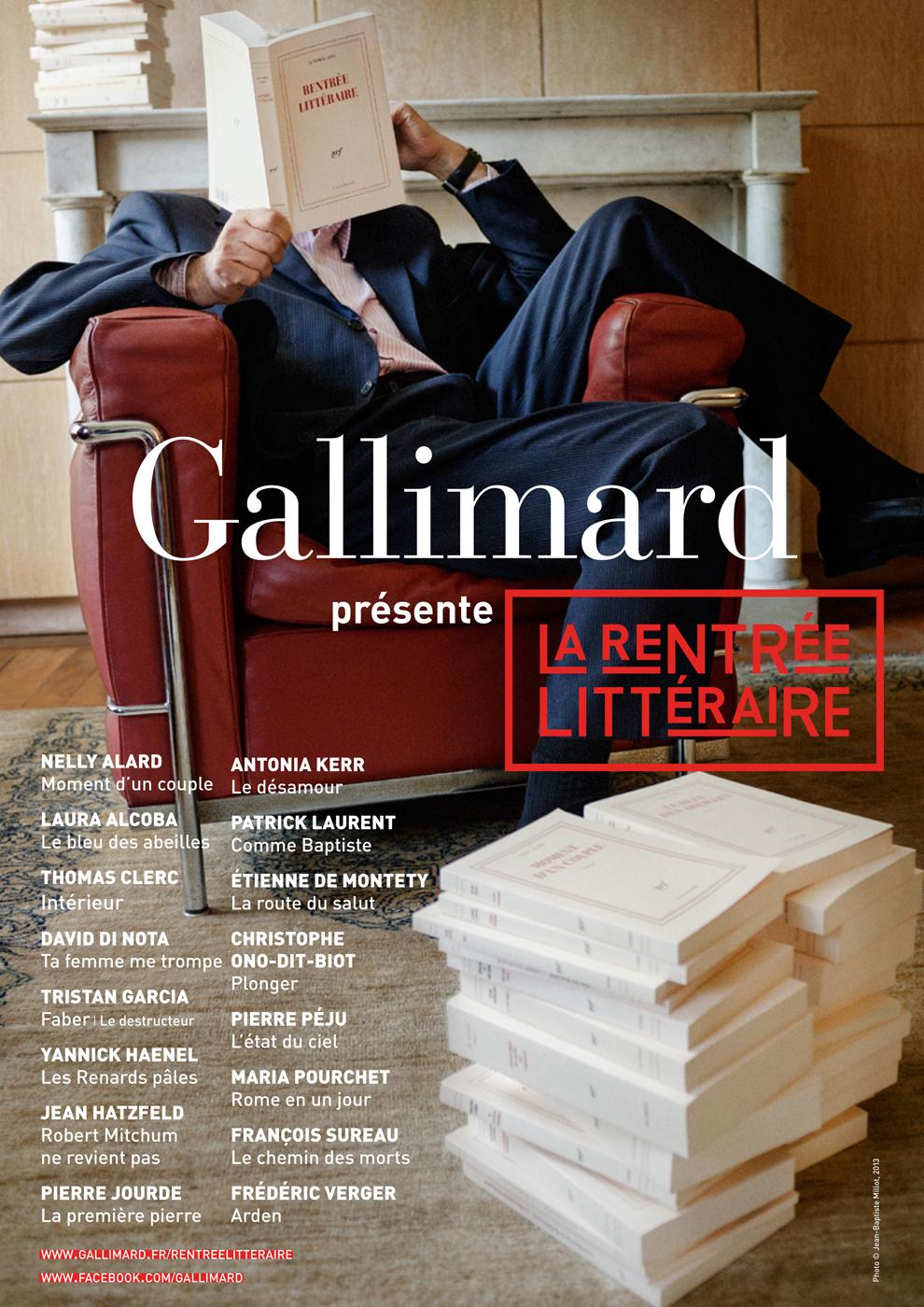 EXTRAITS GRATUITS - LA RENTREE LITTERAIRE GALLIMARD 2013