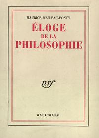 Éloge de la philosophie