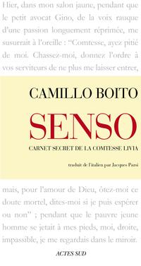 Senso (Carnet secret de la comtesse Livia) | Boito, Camillo
