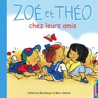Zoé et Théo chez leurs amis...