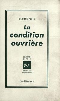 La Condition ouvričre
