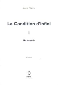La Condition d'infini I