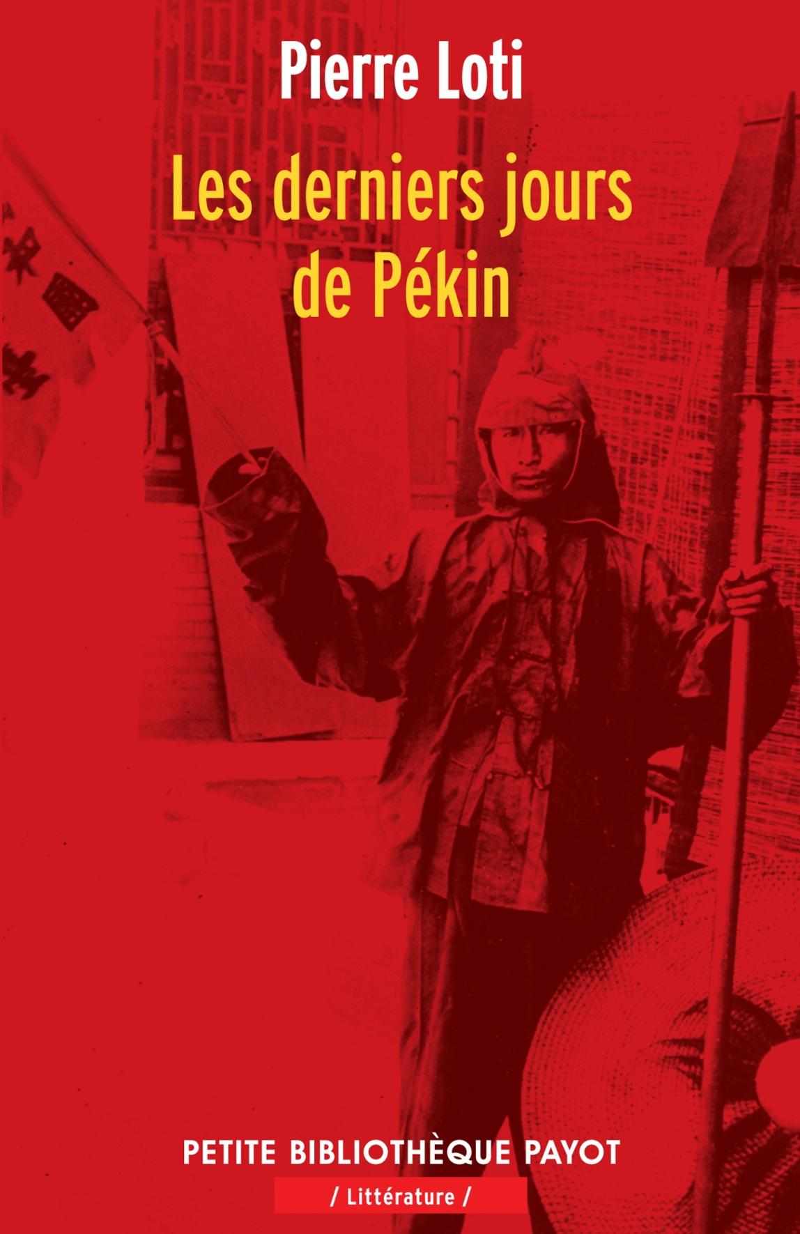 LES DERNIERS JOURS DE PEKIN - PBP N 968
