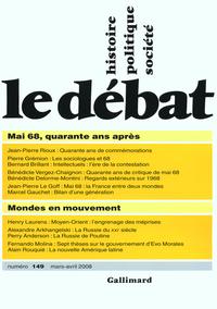 Le Débat n°149 (mars-avril ...