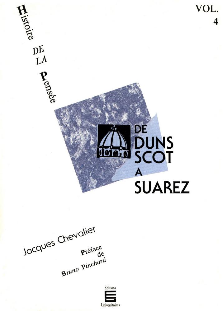 De Duns Scot à Suarez