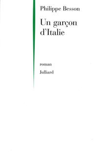 Un garçon d'Italie | BESSON, Philippe