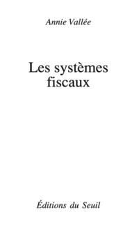 Les Systèmes fiscaux